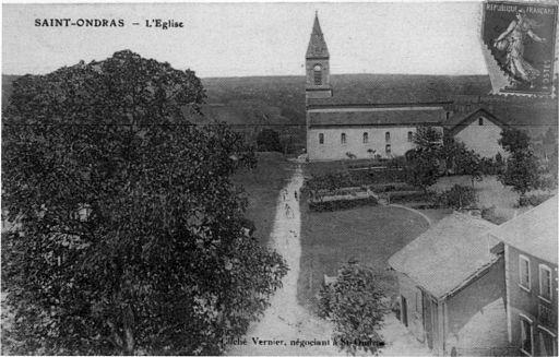 saint-ondras-l-eglise-1912-p220-de-l-isere-les-533-communes-cliche-vernier-negociant-a-st-ondras